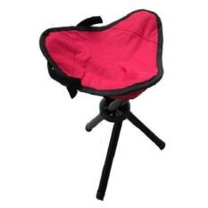 Harga Universal Kursi Lipat Memancing Folding Three Legged Beach Stool Chair Red Universal Dki Jakarta