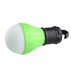 Universal Lampu Bohlam Gantung LED Camping Portable - Green