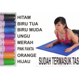 Review Universal Matras Yoga 6 Mm Ungu Universal