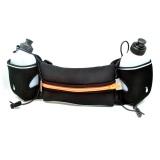 Harga Hemat Universal Neoprene Hydration Sports Running Belt With 2 Bottle Ze Hbw Hitam Orange