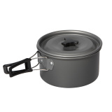 Harga Universal Panci Masak Set Outdoor 8Pcs Black Universal