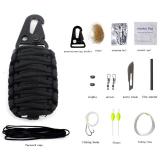 Review Toko Universal Perlengkapan Camping Survival Kit 12 In 1 Black Online