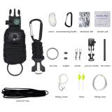 Jual Universal Perlengkapan Camping Survival Kit 13 In 1 Black Online Dki Jakarta