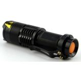 Spesifikasi Universal Pocketman Senter Led 2000 Lumens 3 Modes Flashlight Waterproof Black Murah