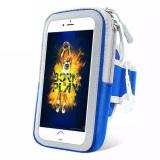 Toko Universal Sports Arm Paket Running Case Belt Key Coin Purse Wrist Untuk 4 7 Ponsel Ponsel Arm Bag Band 15 × 9 × 3 Cm Biru Intl Oem Online