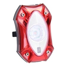 USB Rechargeable Sepeda Light Water-Proof Safety Lampu Sepeda Peringatan Lampu-Intl