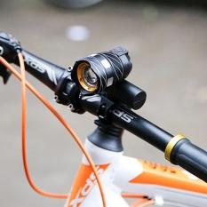 USB Rechargeable XML T6 LED Sepeda Lampu Sepeda Depan Bersepeda Lampu Kepala Lampu-Intl
