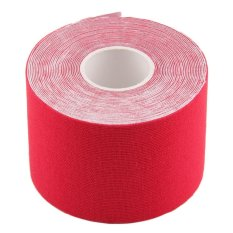 Review Tentang Ustore 1 Roll 5Cm X 5M Kinesiology Sports Elastic Tape Muscle Pain Care Therapeutic Red Intl