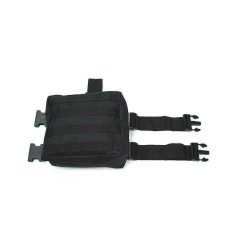 Jual V2 Molle Drop Panel Kaki Utilitas Pinggang Pouch Bag Black Intl Oem Murah