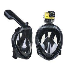 Beli Victory Masker Selam Full Dry Kacamata Renang Not To Bring A Camera S M Hitam Intl Oem
