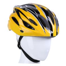 Viva Cycle Cross Helm Sepeda - Hitam/Kuning