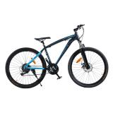 Beli Viva Cycle Morelli 560 Shimano Hi Ten 26 Sepeda Mtb Gunung 21Sp Matt Black Blue Jabodetabek Only Pakai Kartu Kredit