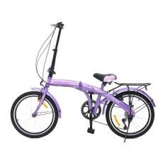 Viva Cycle Twist Y3110 Hi-Ten Folding 7sp Sepeda Lipat 20