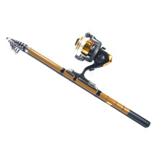 Jual Cepat Vr Tech Supertrip Fishing Tackle Set Fishing Rod Dan Reel Setcarbon Ocean Rock Fishing Rod Dan Spinning Reel Intl