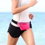 Prosport Yh001 40 Waist Bag Waterproof Tas Pinggang Olahraga Lari Anti Air Pink Original