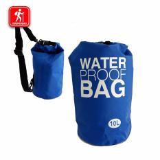 Jual Waterproof Bag Dry Bag Kapasitas 10 Liter Besar Untuk Tempat Gadget Saat Olahraga Air Di Bawah Harga
