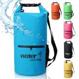 Jual Waterproof Dry Bag 10 Liter Dengan Kantong Depan Tempat Botol Oem Online
