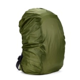 Waterproof Dust Rain Cover Travel Hiking Backpack Camping Rucksack Bag Army Green 55L Intl Tiongkok Diskon