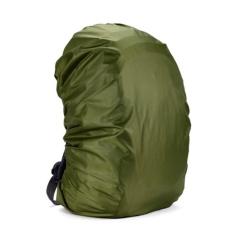 Jual Waterproof Dust Rain Cover Travel Hiking Backpack Camping Rucksack Bag Army Green 55L Intl Lengkap
