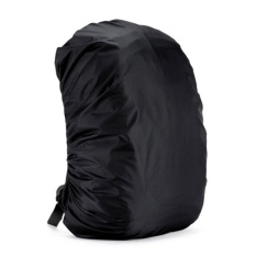 Promo Tahan Air Debu Hujan Cover Travel Hiking Backpack Camping Rucksack Bag Black 55L Intl Oem Terbaru