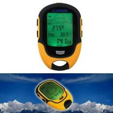 Harga Waterproof Fr500 Multifunction Lcd Digital Altimeter Barometer Compass Intl Asli
