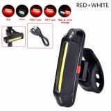 Beli Tahan Air Led Usb Sepeda Sepeda Depan Belakang Tail Light Rechargeable Peringatan Lampu Putih Cahaya Internasional Yang Bagus