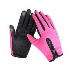 Tahan Air Pria Wanita Musim Dingin Sarung Tangan Touch Driving Gloves Tahan Lama 3 Ukuran-Intl