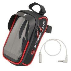 Tahan Air Praktis Sepeda Depan Keranjang Beban Bingkai Tabung Handlebar Bag Pouch untuk Bersepeda Mengemudi Motor Aksesoris-Intl