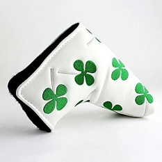 waterproof PU Protect bag Golf Putter Head cover for golf club golf sticks Cover - intl
