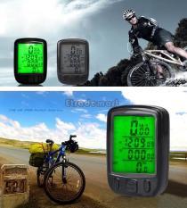 Toko Waterproof Stopwatch Kabel Speedometer Sepeda Bersepeda Komputer Odometer Hitam International Lengkap Tiongkok