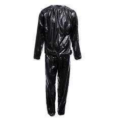 Toko Jual Berat Kehilangan Baju Sauna Pvc Berkeringat Kain Ukuran 5Xl Hitam International