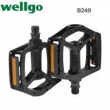 Jual Wellgo Mtb Bmx Aluminium Hemat Biaya Pedal Sepeda 9 16 B249 Hitam Wellgo Branded