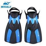 Tips Beli Whale Oceanic Renang Menyelam Snorkeling Adjustable Submersible Sirip Trek Biru Intl
