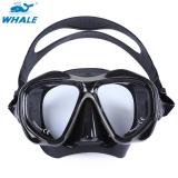 Toko Whale Kacamata Masker Berenang Menyelam Myopia Hyperopia Skuba Profesional Hitam Termurah Di Tiongkok