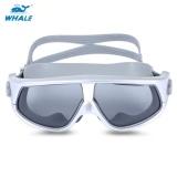 Jual Beli Whale Unisex Anti Kabut Uv Shield Melindungi Kacamata Goggles Swimming Glasses Perak Intl Baru Tiongkok