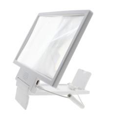 Dapatkan Segera Whyus Universal Portable Folding Screen Magnifier Amplifier Horn Suara Video Memperbesar Putih Intl Intl
