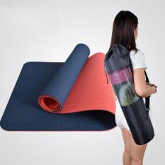 Harga Pelebaran 65 Cm Hambar Tpe Tikar Yoga Pusat Keset Antislip Yoga Tikar Biru Tua Di Tiongkok