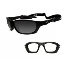 Wiley X Brick Sunglasses, Silver Flash, Crystal Metallic - intl