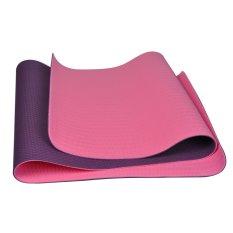 Harga Winmax Anti Slip Ramah Lingkungan 6Mm 1 4 Inch Tpe Fitness Yoga Mat Ungu Intl Branded