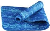 Review Winmax Kamuflase Warna Ramah Lingkungan Tpe Fitness Yoga Mat Dengan Carrying Strap Biru Intl