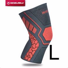 Situs Review Winmax Dukungan Lutut Elastis Brace Untuk Nyeri Sendi Dan Bantuan Artritis Cedera Pemulihan Single Wrap Oranye Ukuran L Intl