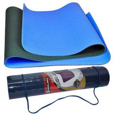 Harga Winmax Matras Yoga Tpe 6Mm Biru Matras Yoga Berkualitas Matras Yoga Anti Slip Yoga Mat Tpe Fullset Murah