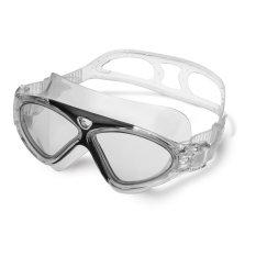 MENANG. MAX Professional Anti Kabut dan Anti UV Dewasa Renang Goggles (Hitam)-Intl