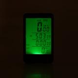 Jual Sepeda Bersepeda Sepeda Nirkabel Komputer Tombol Sentuh Lcd Backlight Speedometer Odometer Cahaya Tahan Air Multifungsi Hitam Baru