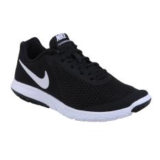 Womens Nike Flex Experience Rn 6 Sepatu Lari Black White Diskon Akhir Tahun