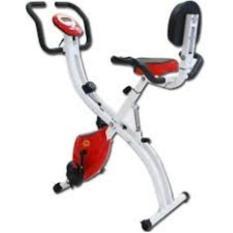 x bike sandaran (sepeda statis, sepeda x bike, sepeda olahraga,excider bike ) new model merah