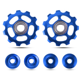 Xcsource 2 Pcs 11 T Sepeda Sepeda Bersepeda Sealed Bearing Derailleur Jockey Wheel Pulley Untuk Shimano Sram 8 9 10 Speed Blue Cs447 Intl Promo Beli 1 Gratis 1