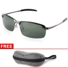 Harga Xcsource Uv400 Polarized Glasses Outdoor Sports Driving Sunglasses Green Grey Frame Merk Xcsource