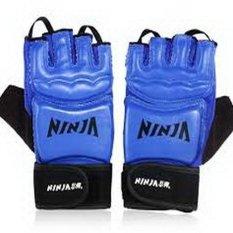 XoXoGrosir Ninja PVC Boxing Gloves N6401 - Biru
