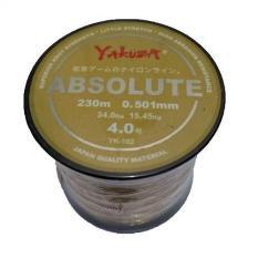 Yakuza Absolute 0,50 mm Senar Pancing Kuat panjang 230 meter